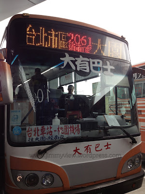 Bus 2061 to Taipei