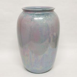 Ruskin Iridescent Vase