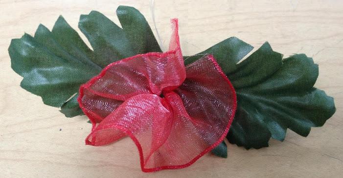 Épinglette avec Fleur au ruban