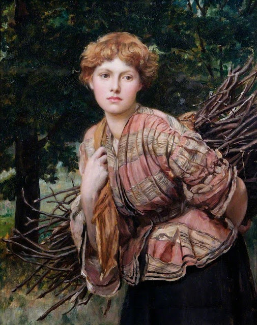 Valentine Cameron Prinsep - The Gamekeeper's Daughter
