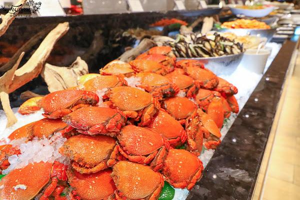 宜蘭海鮮自助餐廳,Buffet精緻吃到飽~La Terra樂沛西餐廳 |中天溫泉渡假飯店2樓