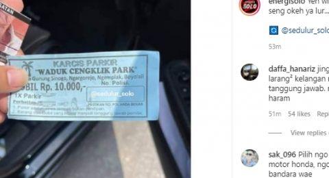 Wali Kota Solo Dicolek Soal Parkir Wisata Mahal di Boyolali, Begini Respon Gibran