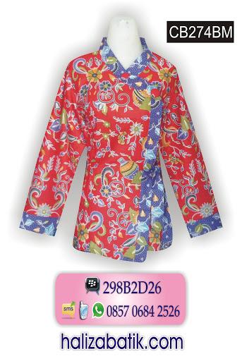 CB274BM Mode Batik Modern, Grosir Baju, Baju Batik Online, CB274BM