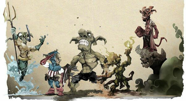 Goblins Skulls Mini