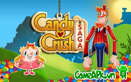 Candy Crush Saga v1.68.0.3 hack full cho Android