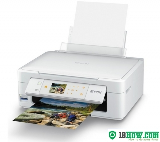 How to reset flashing lights for Epson XP-415 printer