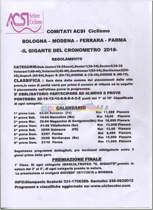 calendario bologna