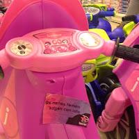 Accións contra os xoguetes sexistas