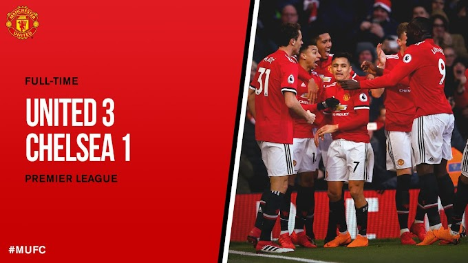 DOWNLOAD VIDEO: Manchester United vs Chelsea 2-1 – Highlights & Goals