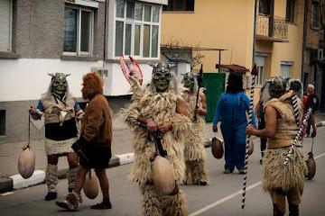 Bulgarian Carnival Celebration