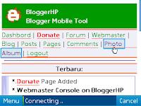 Cara mengupload foto atau gambar di blogspot lewat hp