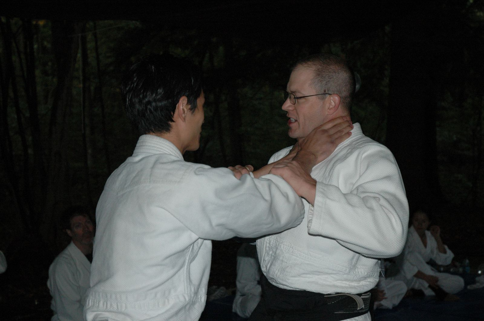 Aikido and Outdoor Survival Sept 2010 - Chokes