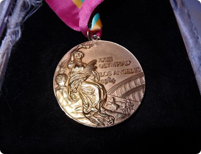 Tessa's 1984 Summer Olympics gold medal