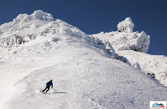 Photo: Pazout with the Koryaksky's summit rock in the background