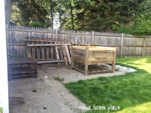 DIY Raised Vegetable Garden Box