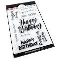 Happy Birthday Many Ways Stamps