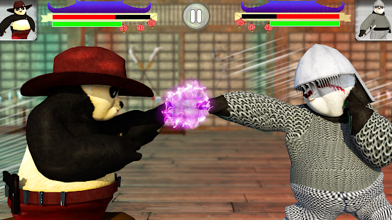 Panda Fighting: Angry Wild kung fu Beasts Screenshot
