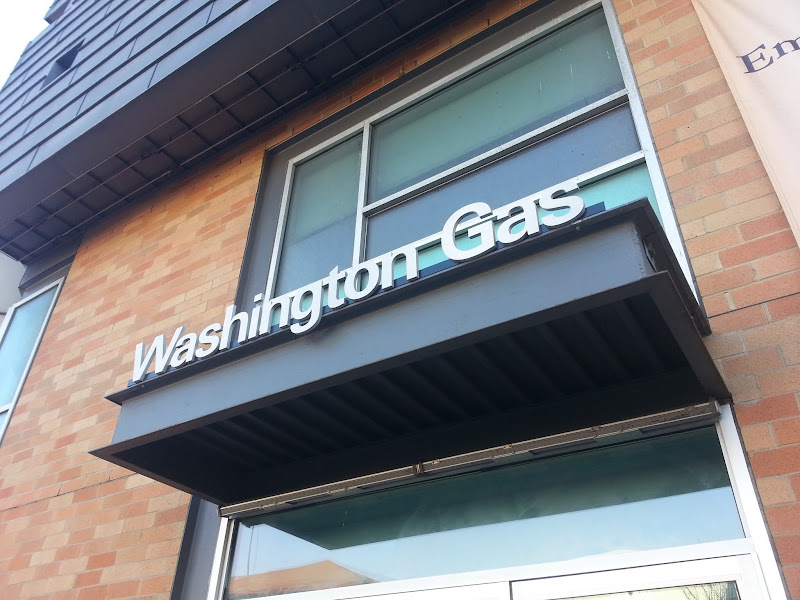 stainless steel letters washingont gas