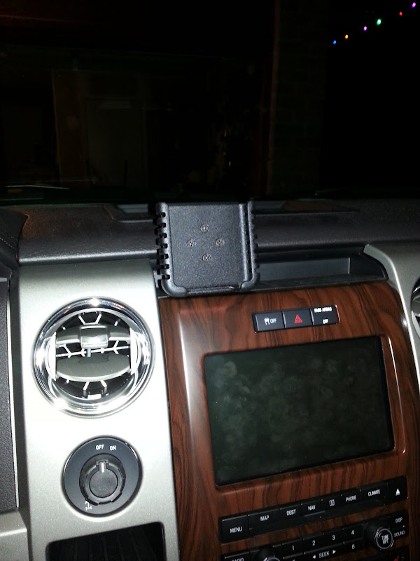 Custom Cell Phone Holder Mount Ford F150 Forum