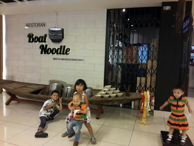 Tenang Makan di Boat Noodle Jaya One Petaling Jaya