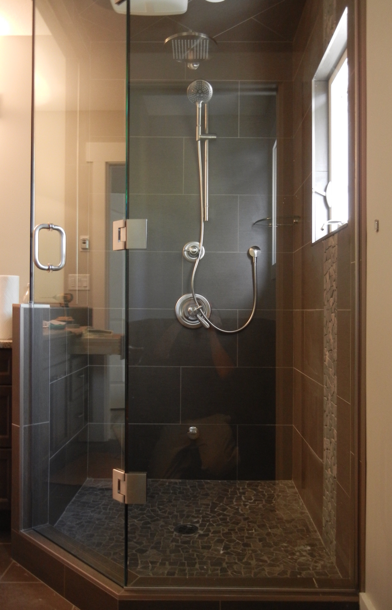 Chuck St. John Glass: Frameless Glass Showers