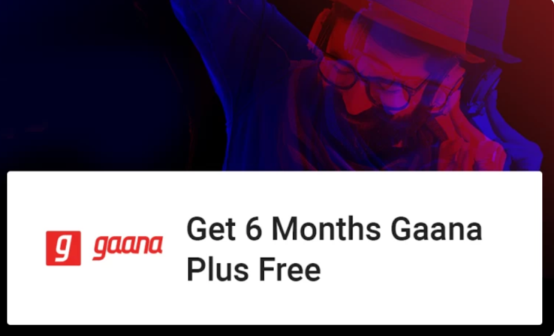 Flipkart Plus Users - Get Gaana+ Subscription for 6 Months for Free
