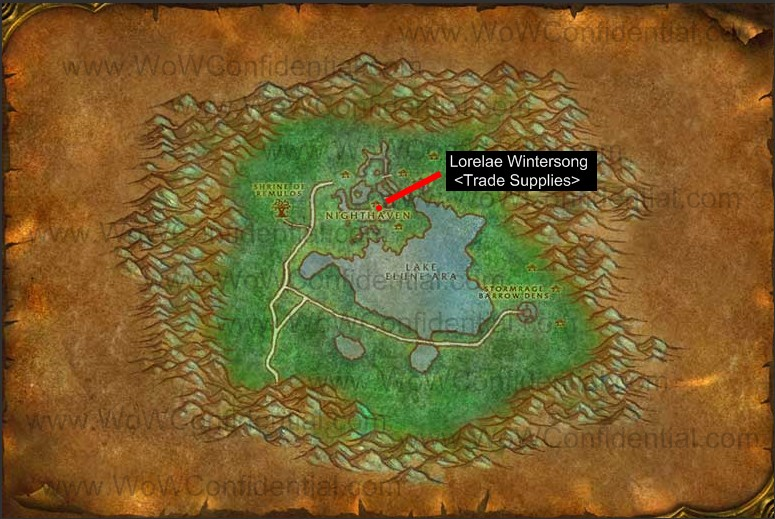 How to get to Moonglade from Felwood on foot - World of ...