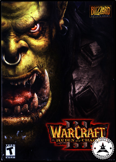 Warcraft III cover pc