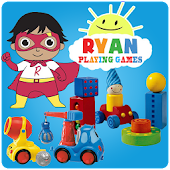 Ryan Playing with Toys