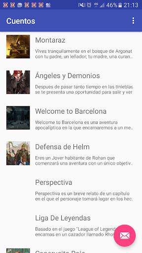Biblioteca Libro Juegos de rol interactivos screenshot 1