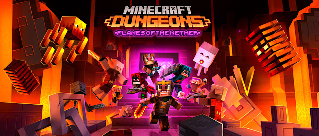 Minecraft Dungeons: Flames of the Nether