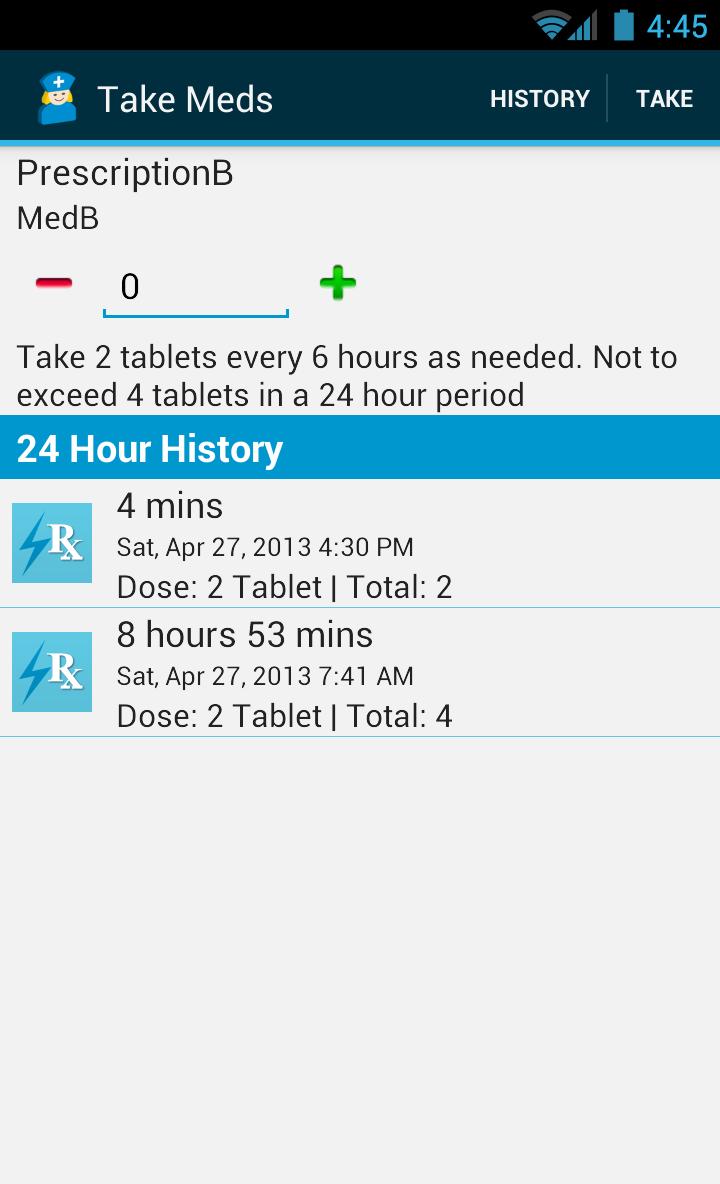 Med Helper Pro Pill Reminder Screenshot 6
