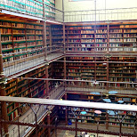the library at the Rijksmuseum in Amsterdam, Noord Holland, Netherlands