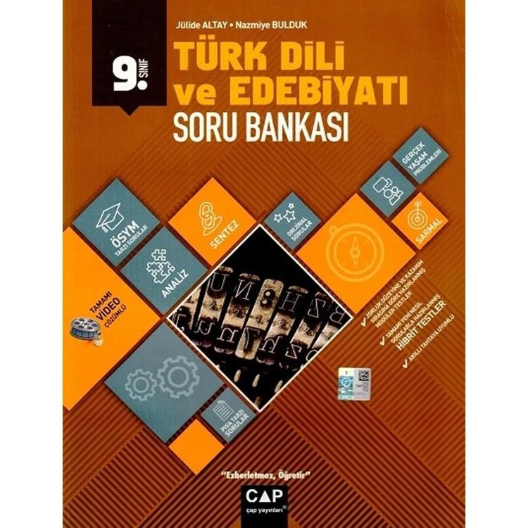 Çap Yayınları - AYT Edebiyat - 9.Sınıf Soru Bankası