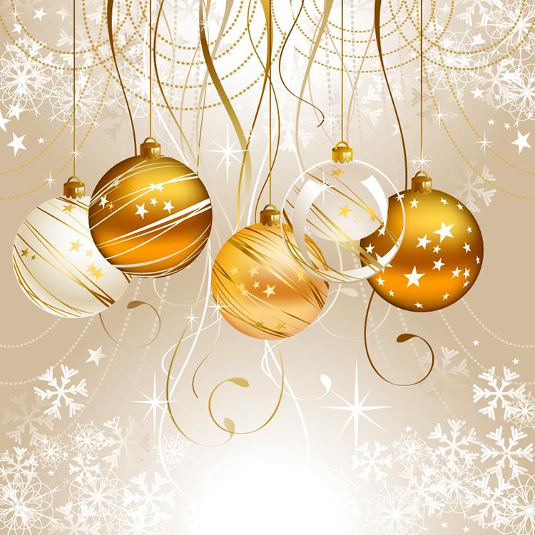 Testclod boules de no l or et blanc - Pinterest boule de noel ...