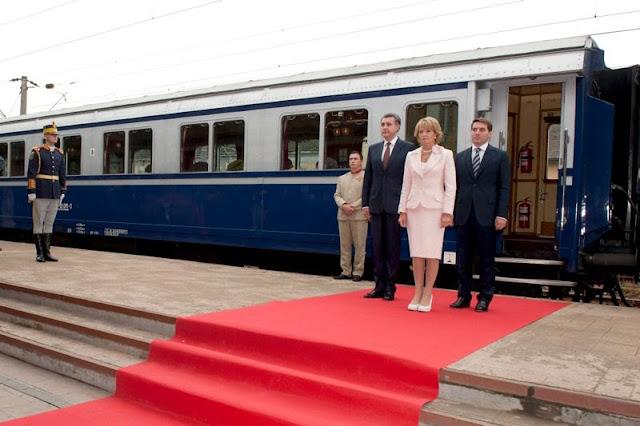 De Ziua Naţională, Familia Regală face un drum simbolic, cu Trenul Regal, din Gara Sinaia la Gara de Nord