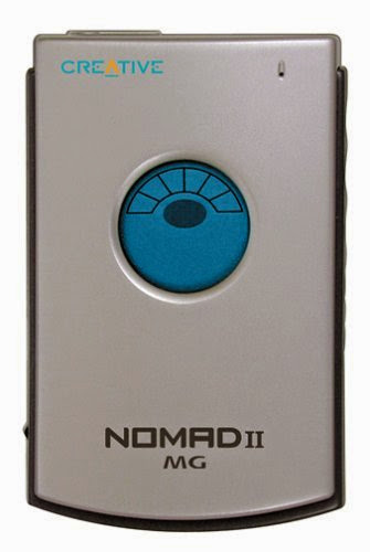 Creative Labs NOMAD II MG 64 MB MP3 Player Silver with Docking Station