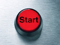 """Start"" Button --- Image by © Sagel & Kranefeld/zefa/Corbis"
