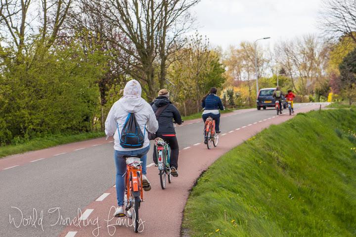 Biking Through the Tulip Fields - Lisse, Netherlands - World ...