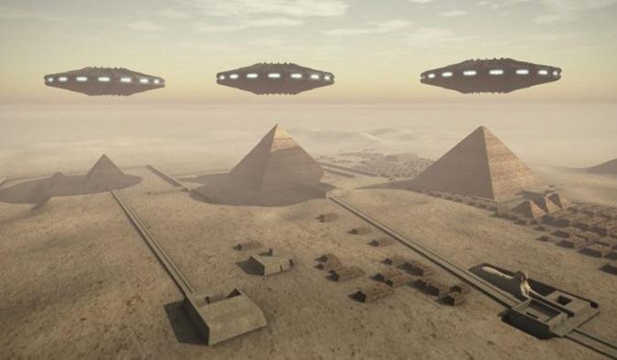 Papiro egípcio antigo revela extraterrestres que visitaram o Egito no passado 01