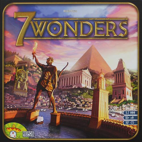 Naš dodatak recenziji: 7 Wonders