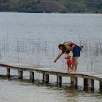 Enseñando en la laguna