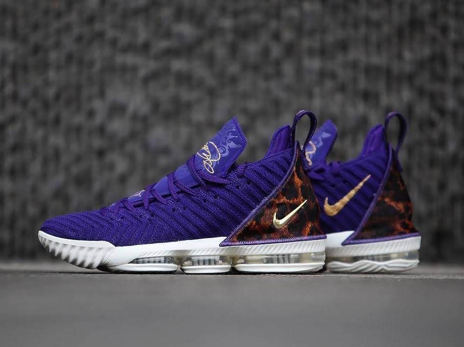 3cc95557464 A Detailed Look at Nike LeBron 16 King Court Purple ...