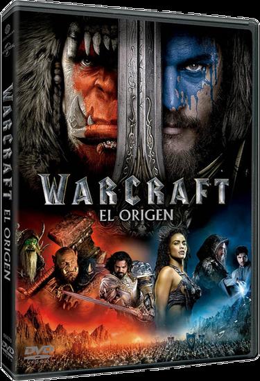 Warcraft El Origen – Castellano, Inglés – DVD9