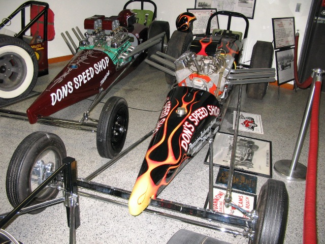 Don Garlits Museum in Florida.