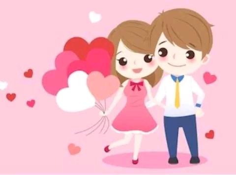 Couple cartoon images