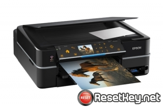 Resetting Epson TX720WD printer Waste Ink Pads Counter