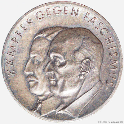 165a Medaille für Kämpfer gegen Faschismus 1933-1945 www.ddrmedailles.nl