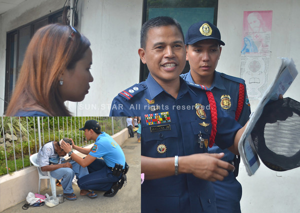 PO1 Jessie Mallari commended for helping old beggar