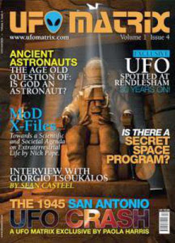 Ufo Matrix Magazine Issue 4 Now Available In The Uk